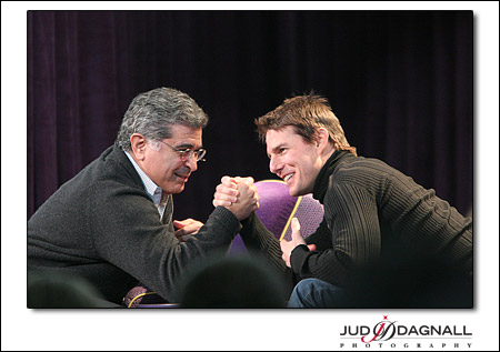 Tom Cruise and Terry Semmel